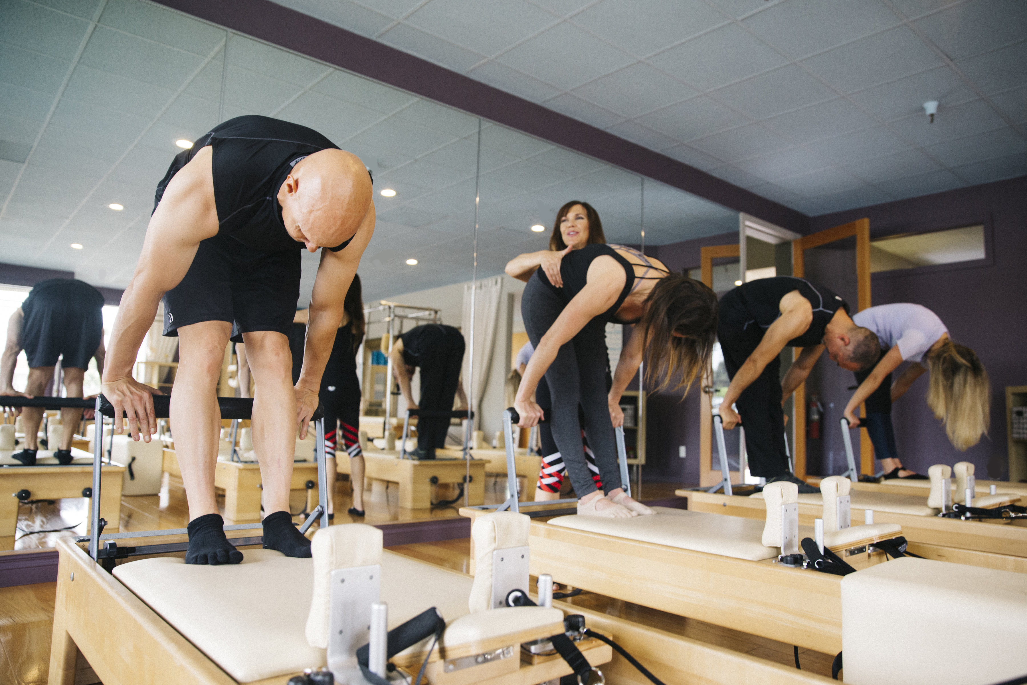 EHF Pilates Reformer classes